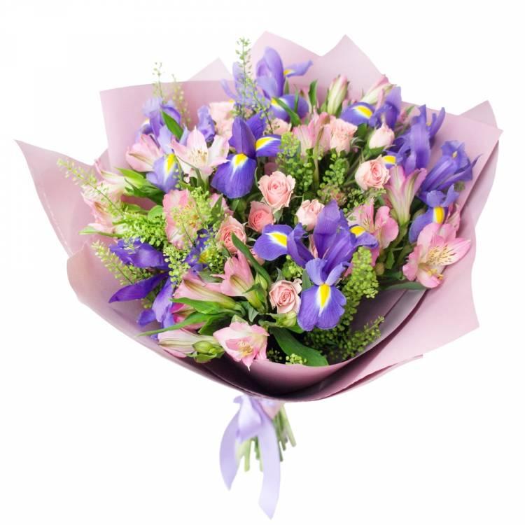 Доставка цветов в астрахани недорого, букет